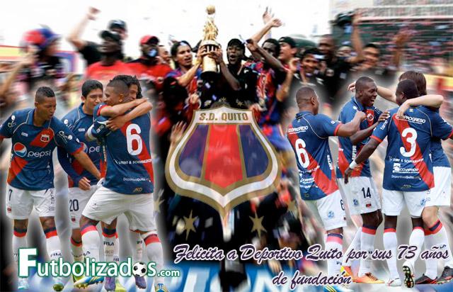 Deportivo Quito festeja sus 73 años de fundación