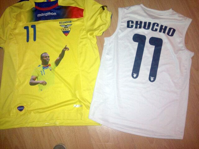 [FOTO] La selección vestirá una camiseta especia en homenaje a Christian Benítez