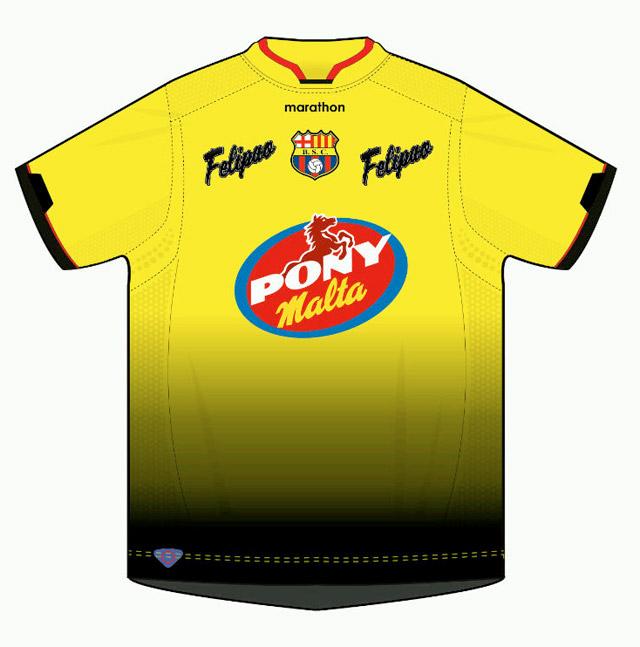 [FOTO] La nueva camiseta de las inferiores de Barcelona con auspicio de 'Felipao'