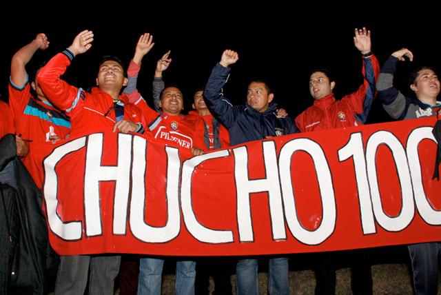 [EN VIVO] Expectativa por llegada de restos de Christian Benítez al país