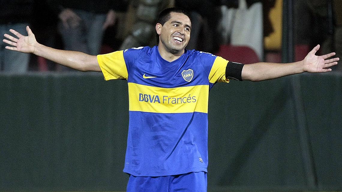 Juan Roman Riquelme 2014