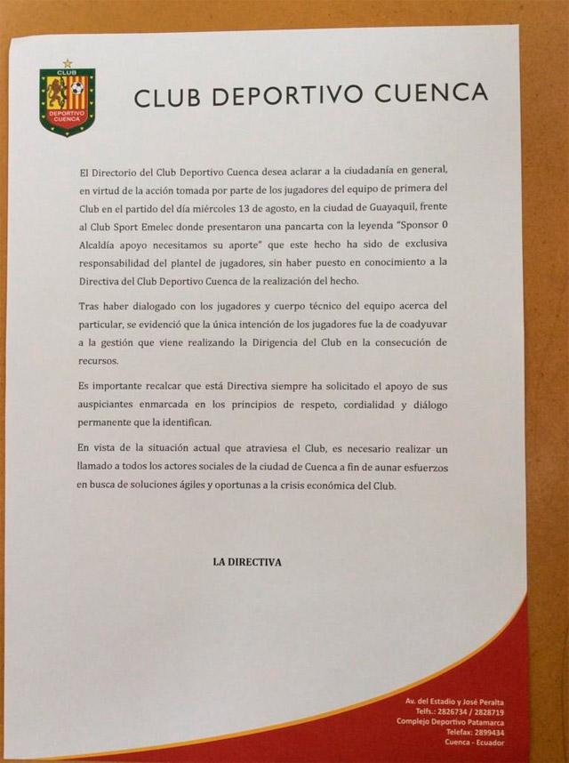 comunicado_deportivo_cuenca