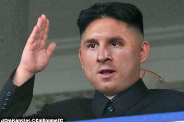 Lionel Messi y su nuevo corte de pelo inspiraron graciosos memes