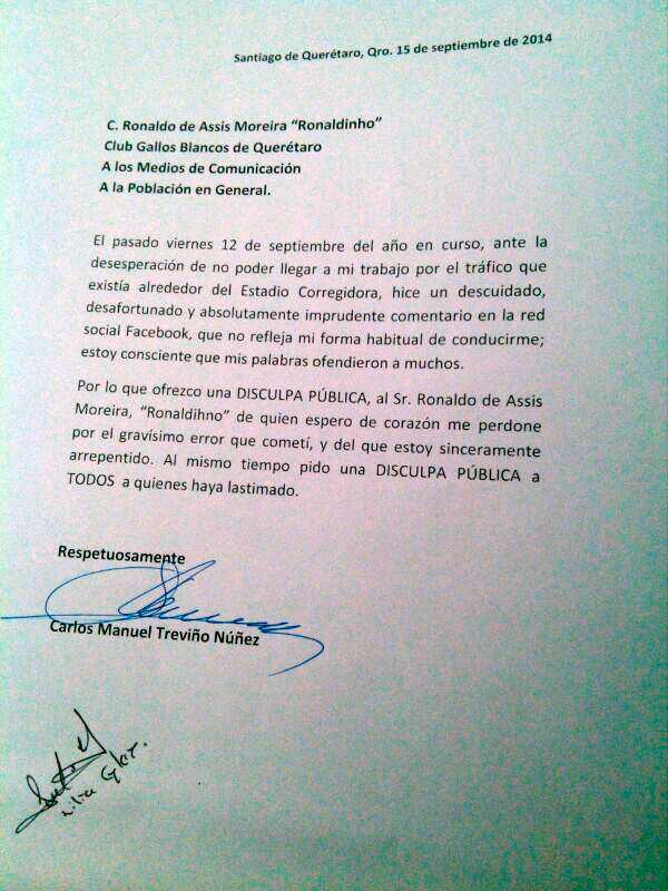 disculpas_politico_ronaldinho