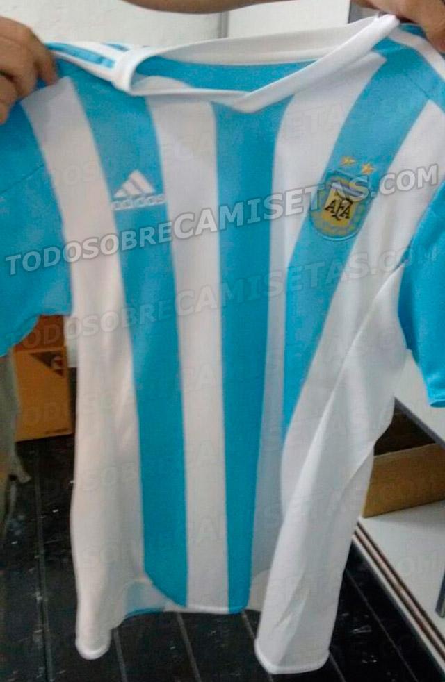 Mira el posible dise 241 o de la camiseta de argentina