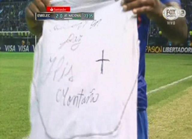 dedicatoria_miller_bolanios_emelec_atletico_nacional