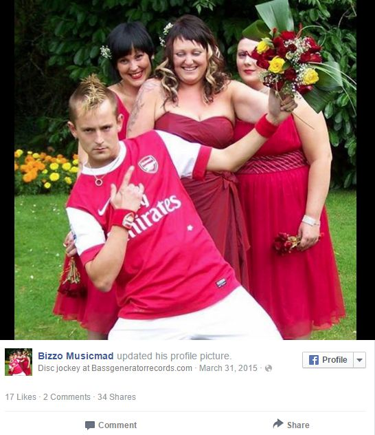 arsenal_hincha_matrimonio