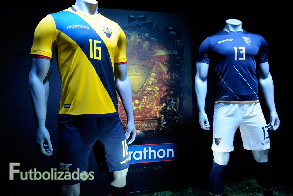 FOTOS  LA PIEL DE LA  TRI   Conoce la camiseta de Ecuador para la ... 7d451ebcdb636